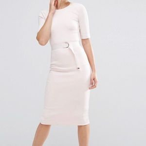 Ted Baker Light pink Mid-Length Sheath Dress